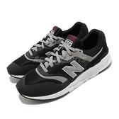 New Balance 休閒鞋 997 NB 黑 白 男鞋 反光設計 復古慢跑鞋 運動鞋【ACS】 CM997HFND