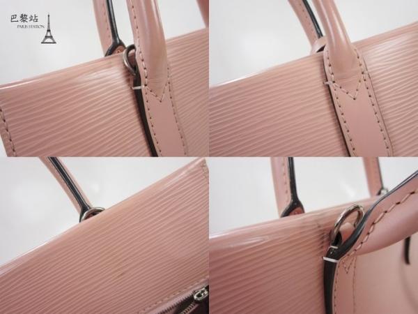 【巴黎站二手名牌專賣店】*現貨*LV 路易威登 真品* M41377 MARLY BB EPI 粉色全皮革手提斜背兩用包