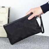 尼龍韓版休閒迷彩牛津布帆布手包手拿包手抓手機包 至簡元素