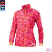 MIZUNO 美津濃 女路跑風衣(珊瑚紅) 防風防潑水保暖 日本同步上市