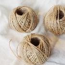 天然麻繩手工DIY,原色裝飾編織,一捲3...