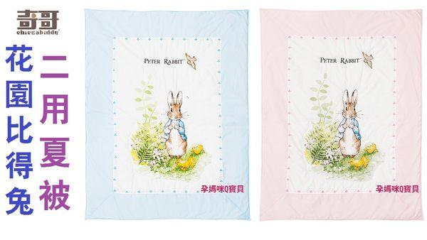 奇哥花園比得兔/彼得兔二用夏被/兩用夏被(精梳棉/日本SEK抗菌防螨處理/不含螢光劑.甲醛)
