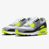 Nike Air Max 90 男鞋 慢跑 休閒 復古 氣墊 灰 綠【運動世界】CD0881-103