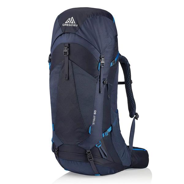 【美國 GREGORY】 STOUT 登山背包 60L『幻影藍』GG126873 登山|露營|休閒|旅遊|戶外|後背包
