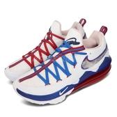 Nike 籃球鞋 Lebron XVII Low EP 17 Tune Squad 白 紅 藍 男鞋 怪物奇兵 低筒 氣墊 運動鞋【PUMP306】 CD5006-100