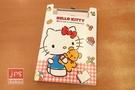 Hello Kitty 凱蒂貓 PP板夾附便條紙 小熊布偶 白 958837