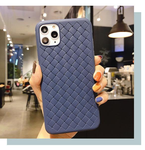 三星 Note10 Lite 編織 格紋 保護殼 全包 防摔 軟殼 透氣 散熱殼