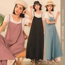 限量現貨◆PUFII-套裝 自訂款T恤+吊帶寬褲套裝- 0331 現+預 春【CP20069】