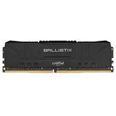 Micron Crucial 美光 Ballistix E-DIE 16GB DDR4 3200 單支超頻黑散熱片 PC 桌上型 記憶體 BL16G32C16U4B