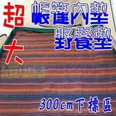 【南紡購物中心】【JIS outdoor】民族風防水地墊 300x300