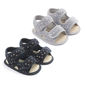 嬰兒學步鞋 幾何圖案寶寶涼鞋 88726