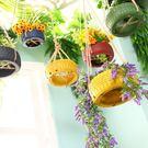 創意吊頂牆面牆上裝飾品花盆服裝店室內家居...