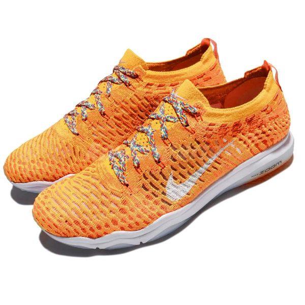 【四折特賣】Nike 訓練鞋 Air Zoom Fearless FK City LA 洛杉磯 橘 黃 白 運動鞋 女鞋 【PUMP306】 902166-801