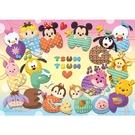 【台製拼圖】HPD0200-028 迪士尼系列 - Disney Tsum Tsum(3) (心形) 200 片拼圖
