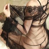 冰絲睡衣情趣內衣透明超薄全裸三點式短性感睡衣女透視全透火辣騷情調衣人 夢藝家