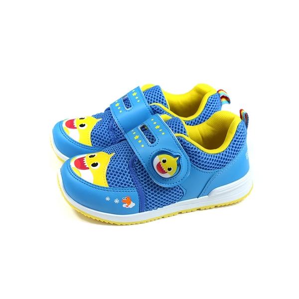 碰碰狐 鯊魚寶寶 BABY SHARK 休閒運動鞋 藍色 中童 童鞋 PIKX96606 no879