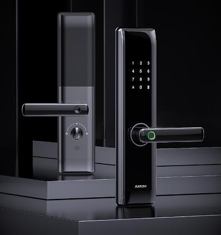 智慧門鎖 指紋鎖家用防盜門智能鎖電子入戶門密碼鎖 DF 維多原創