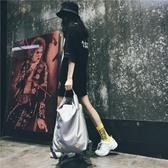 時尚潮流健身旅行背包 超火雙肩包旅游大容量休閒輕便書包男   伊芙莎
