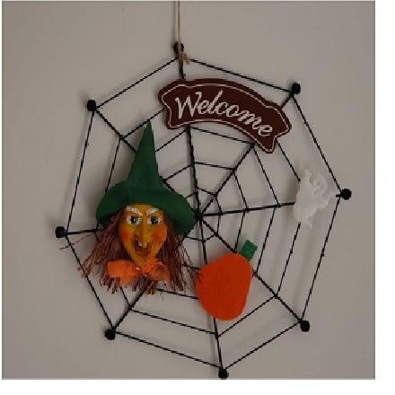 巫婆蜘蛛網 吊飾