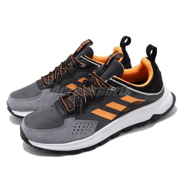 【海外限定】adidas 慢跑鞋 Response Trail 灰 橘 男鞋 越野風格設計 野跑 運動鞋 【ACS】 EE9831