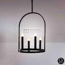 吊燈★簡約設計 拱型燭台吊燈 4燈✦燈具燈飾專業首選✦歐曼尼✦