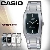 CASIO手錶專賣店 卡西歐 MTP-1165A-1C 男錶 羅馬字 魅力酒桶型 礦物防刮玻璃 不鏽鋼外殼錶帶