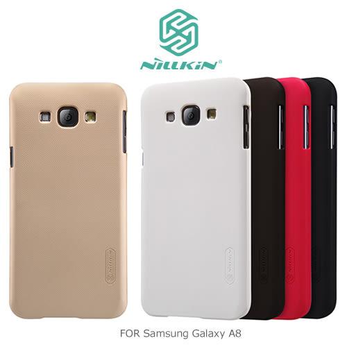 NILLKIN SAMSUNG Galaxy A8 超級護盾保護殼 抗指紋磨砂手機殼 硬殼 背蓋