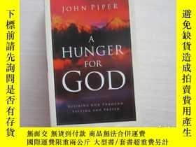 二手書博民逛書店A罕見Hunger for God 192Y10970 出版19