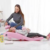 兒童洗頭椅寶寶洗頭床小孩洗發凳躺椅加大號洗頭盆家用洗發架可躺 js11462【小美日記】TW