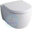 【麗室衛浴】德國 KERAMAG ICON 204060系列 懸吊式馬桶+緩降蓋