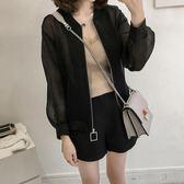 防曬衣女長袖 夏季韓版大碼女裝寬鬆顯瘦200斤開衫短款外套 GD193『科炫3C』