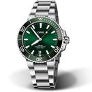 Oris豪利時Aquis時間之海300米潛水錶 0173377324157-0782105PEB 綠