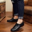 雨鞋男低筒短筒防水釣魚鞋仿皮鞋厚底防滑膠鞋廚房工作鞋廚師鞋「時尚彩紅屋」