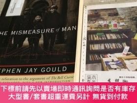 二手書博民逛書店英文原版罕見the Mismeasure of ManY181828 Stephen Jay Gould W.