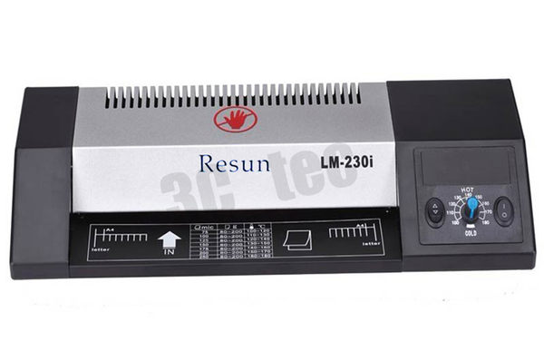 Resun LM-230i A4 四支加熱滾輪護貝機 220mm ~另有 Resun LM-330i