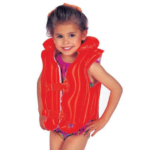 【奇買親子購物網】INTEX 高級型幼童戲水浮衣(3~6歲)