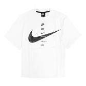 Nike 短袖T恤 NSW Short-Sleeve Top 白 黑 女款 短T 寬鬆 運動休閒 【ACS】CU5683-100