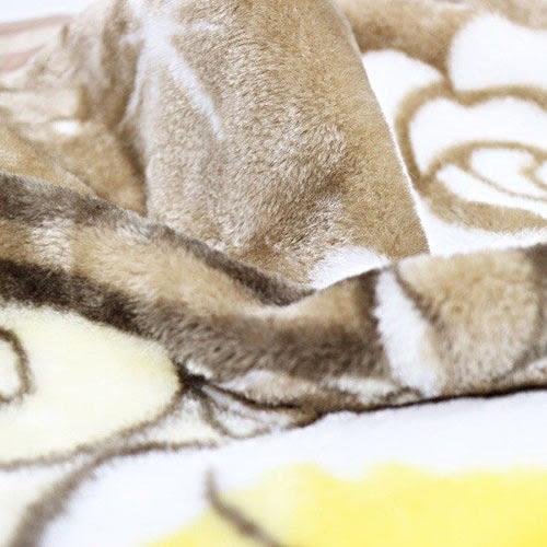 DISNEY 愛麗絲手繪圖案成人用單人毛毯L(奇幻兔子洞)★funbox★丸真_RS65853