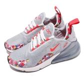 【六折特賣】Nike 慢跑鞋 Wmns Air Max 270 CNY 灰 彩色 大型後跟氣墊 運動鞋 女鞋【PUMP306】 BV6654-059