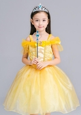 【貝兒公主裙】AP0285 美女與野獸 演出服 連衣裙 公主裙洋裝 萬聖節小禮服 連身裙不含配件