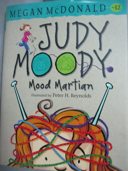 【書寶二手書T7/原文小說_LDO】Judy Moody, Mood Martian_McDonald, Megan