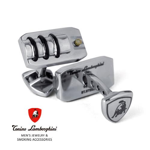 義大利 藍寶堅尼精品 -  STRADA Collection 袖扣 ★ Tonino Lamborghini 原廠進口 時尚必備行頭 ★
