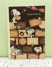 【震撼精品百貨】史奴比Peanuts Snoopy ~SNOOPY A4筆記本-餅乾#82598