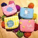 韓國超可愛皮革小貓咪 紅蘿蔔 鳳梨 小魚錢包 零錢包 收納包 收線包 雜物包 交換禮物