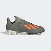 ADIDAS X 19.3 FG J [EF8374] 中大童鞋 足球 運動 透氣 輕巧 防滑 舒適 穩定 愛迪達 綠橘