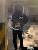 加厚刷毛OVER SIZE 字母連帽上衣 Z11435  【全館免運】