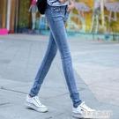 新款牛仔褲女夏長褲薄款小腳褲學生韓版顯瘦...