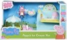 《Peppa Pig》 粉紅豬小妹 - 冰淇淋餐車組【佩佩豬 / 爺爺豬 扮 家家酒 辦 角色扮演 批發