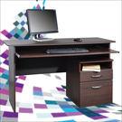 《DFhouse》黑森林電腦桌+檔案櫃-胡桃色 電腦桌 辦公桌 書桌 活動櫃  床櫃  傢俱