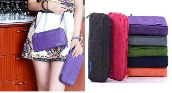 ✭米菈生活館✭【Y42】韓版手提測背兩用包 斜背包 單肩包 手提包 護照包 證件包 存摺包
